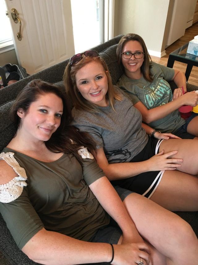 Three of my girls!  Katie, Kara and Candice