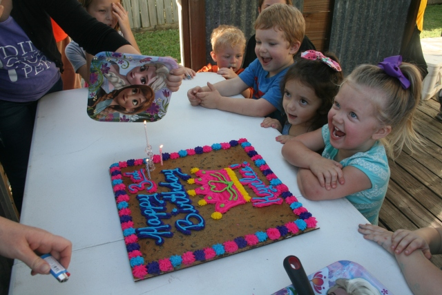 cookie cakes are always a big hit!