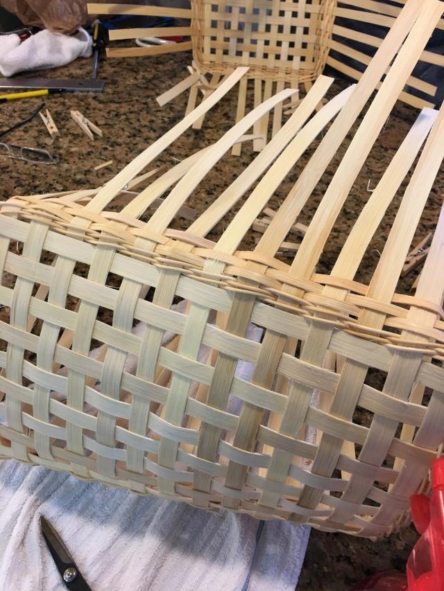 my basket in progress
