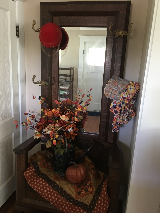 fall decor at the house