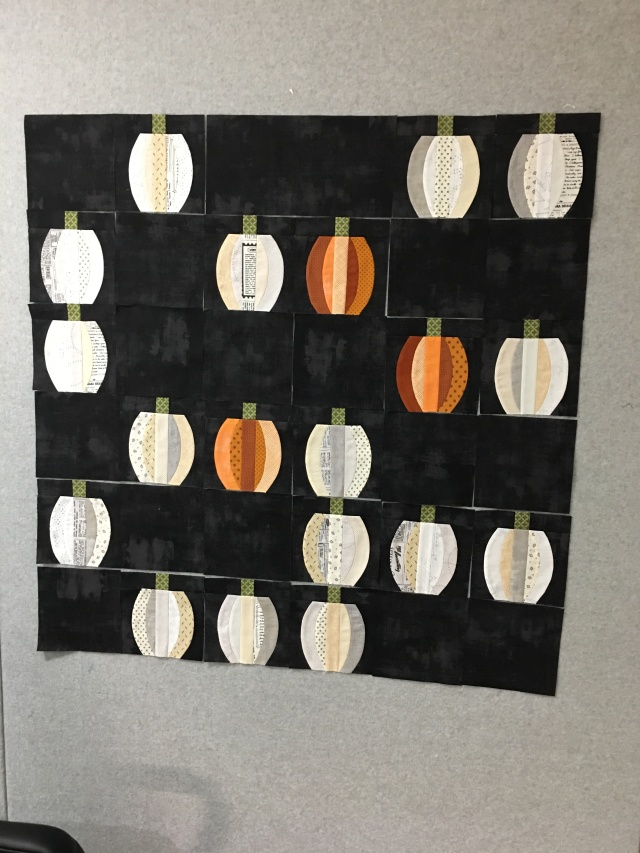 my Mini Pumpkins ready to assemble