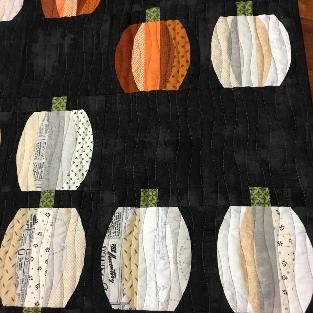 mini pumpkins all finished