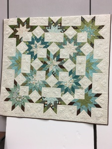 this is from the class I took, the teacher's quilt