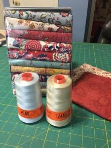 my thread and dutch fabric