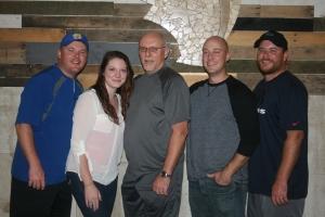 Kyle, Katie, Bennie, Brok and Josh