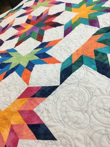 another view of the quilting