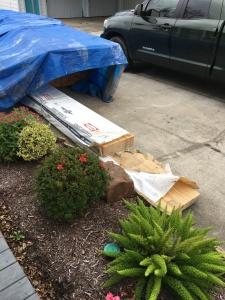 materials delivered