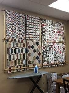 quilts inside Temecula Quilt Co