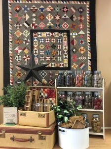 loved how this looked inside Temecula Quilt Co