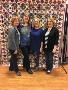 our Monday foursome, myself, Bonnie, Tara and Kay