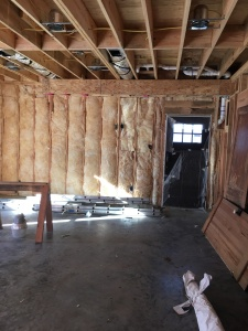 insulation in the first floor
