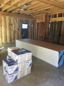 sheetrock delivered